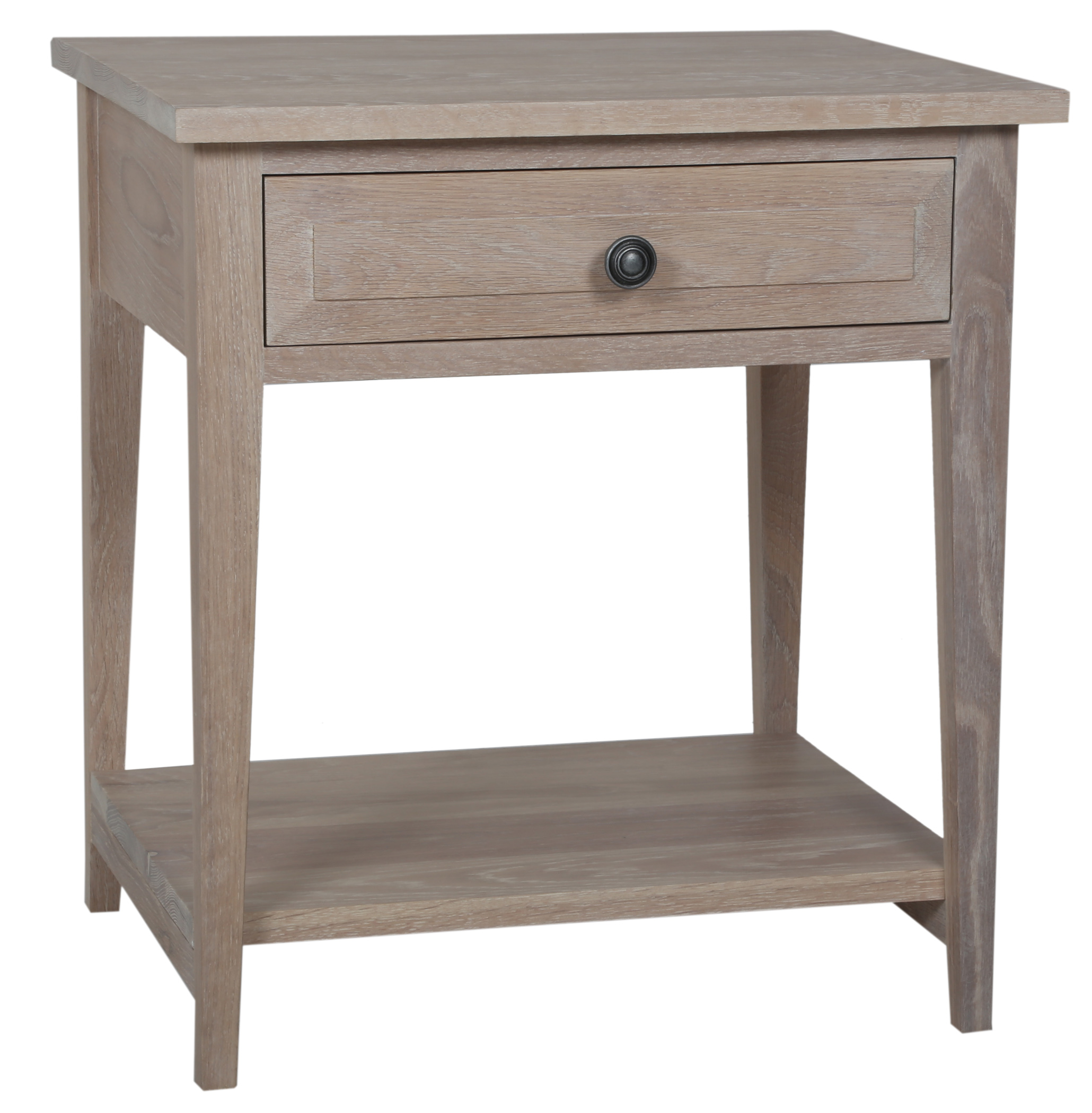 various colors 6c7a1 90a1f Hampton Oak Bedside Table 1 Drawer
