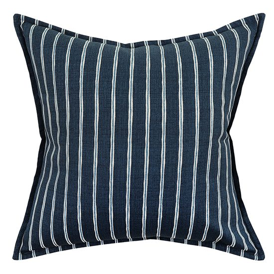 Rowing Stripe Midnight Scatter Cushion